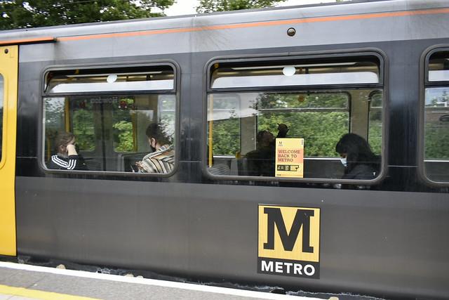 Tyne and Wear Metro logo