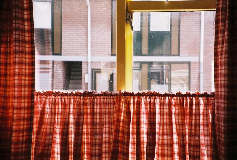 French window. Its my kitchen window but....