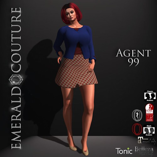Agent 44 Emerald Couture