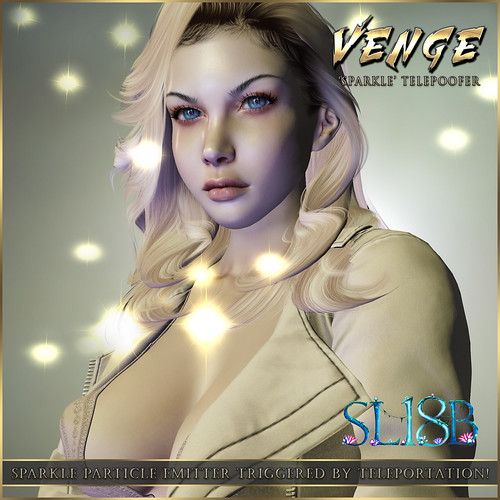 VENGE - 'Sparkle' Telepoofer Advert SLB