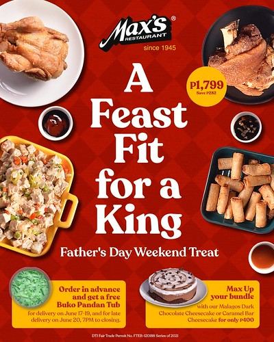 Max's Restaurant Father's Day Bundle