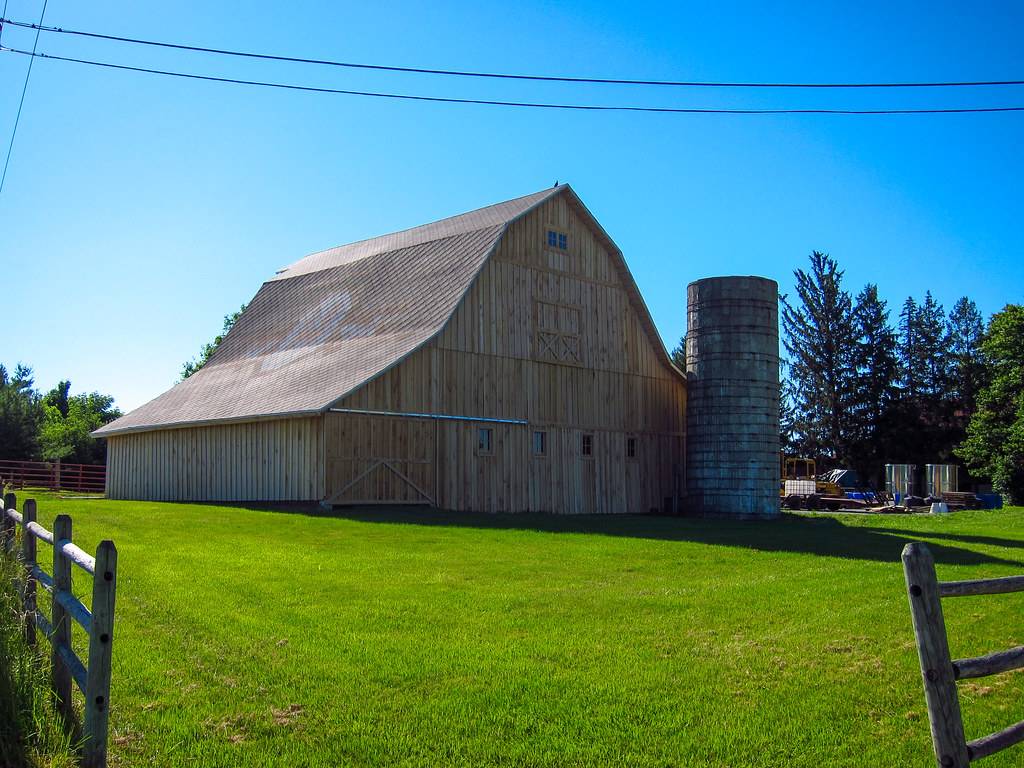 New old-style barn