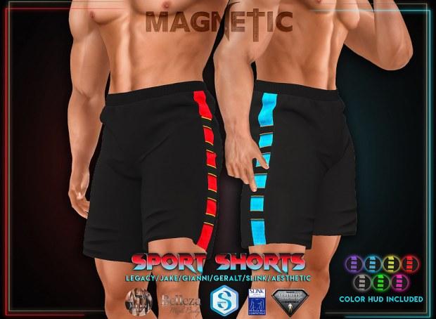 Magnetic - Sport Shorts