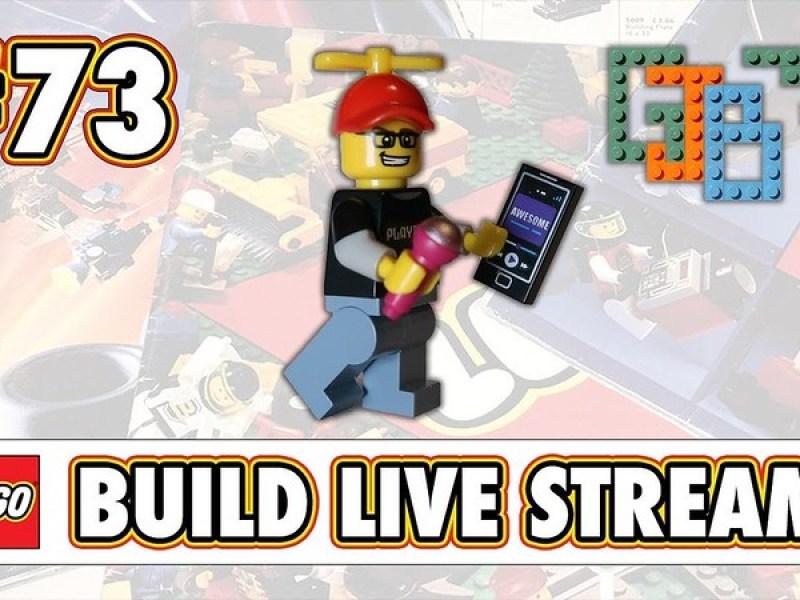 Live Build LEGO STREAM #73 - Join GJBricks and Friends