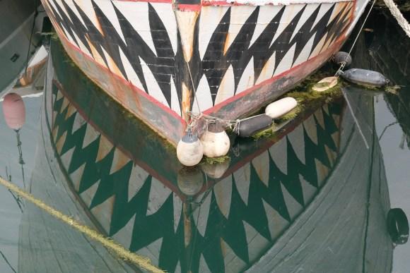 """Jaws"" boat, Penzance"