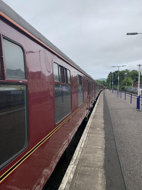 West Coast Railways mk1 Carriages - Fort William