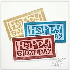 Mini Slimline Birthday Cards