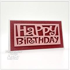 Mini Slimline Birthday Card