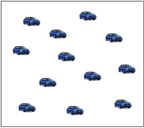 Cars Dot Cards