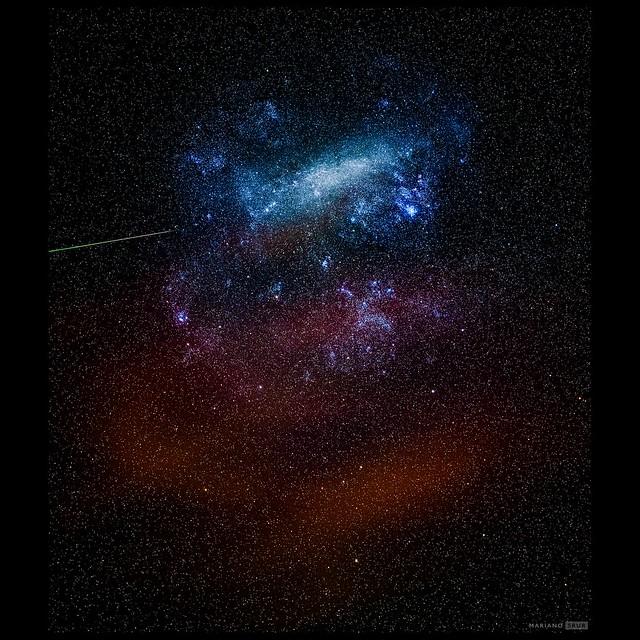 Gran Nube Magallanes meteorito y luminicencia IG