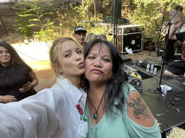 with Sabina