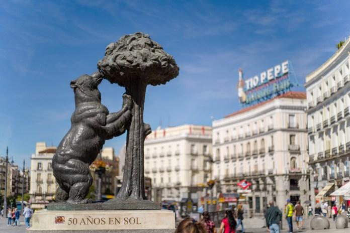 馬德里 太陽門廣場 © 西班牙國家旅遊局