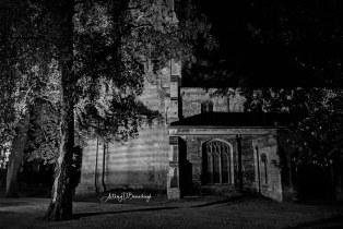 Night Scene - St Marys with St Benedict Church 702-1