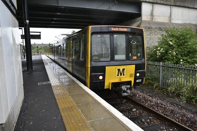 Metro at Northumberland Park