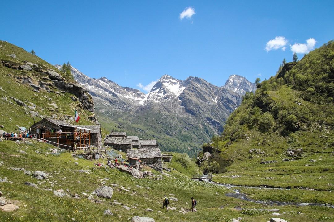Rifugio Crespi Calderini, Alpe Bors, Valsesia