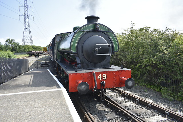 The 49th passenger service of the day