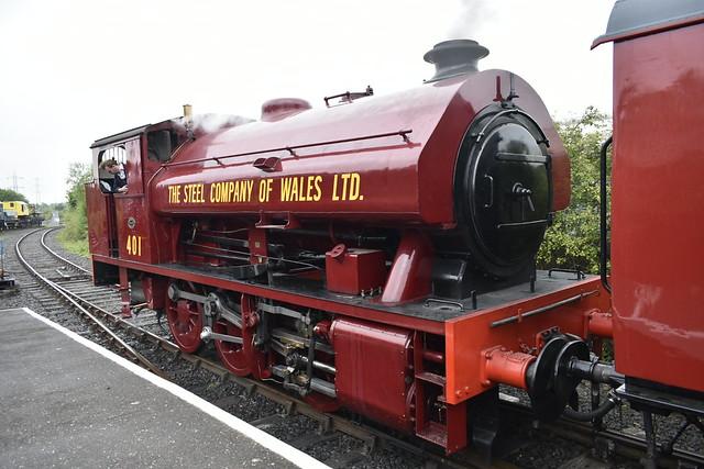 401 at North Tyneside Railway