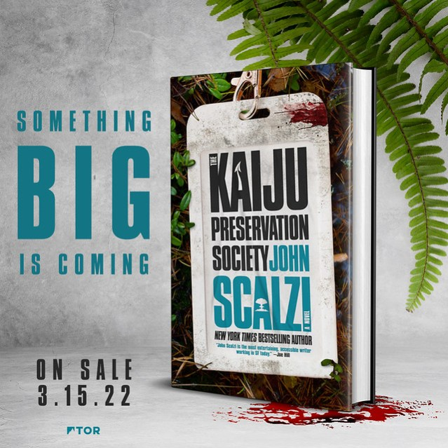The cover of The Kaiju Preservation Society
