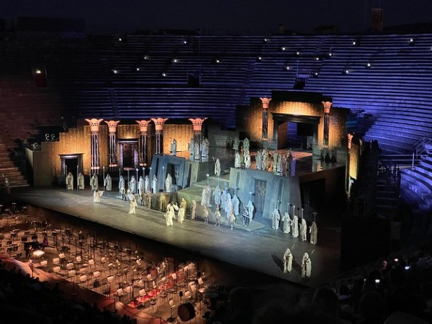 Aida ohne Orchester