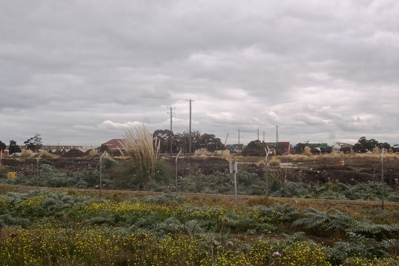 Facing South West overlooking the old 'Huntsman Refinery Site'. 2021-07-23 15:35:30
