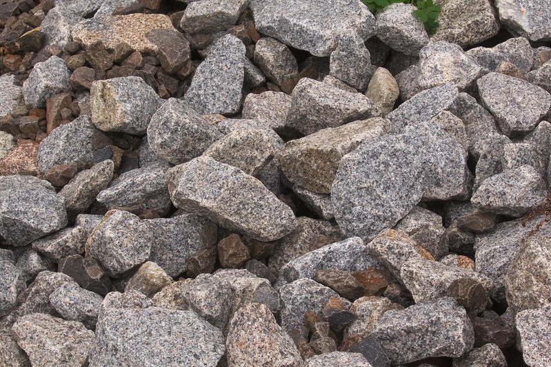 Pile of stone used as filler 2021-07-23 15:41:23