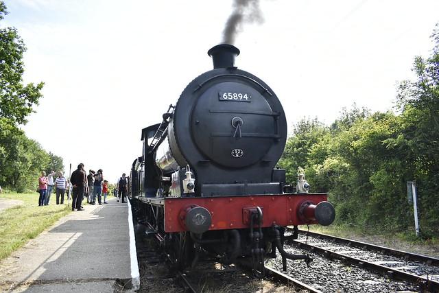 J27 65894 at Percy Main