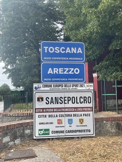 Zurück in der Toskana