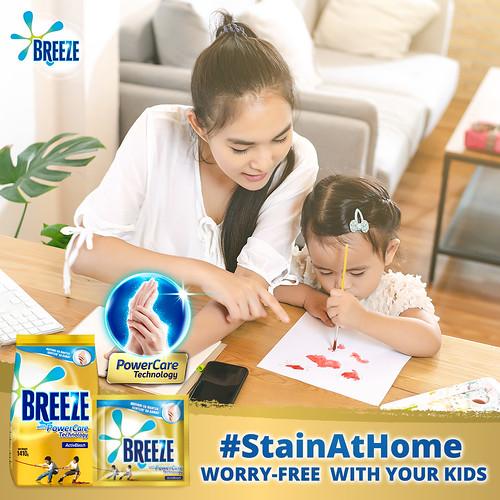 Breeze #StainAtHome 1