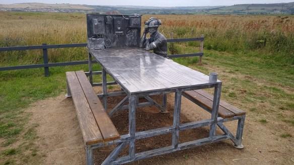 Boulby Mine 50th Anniversary Bench