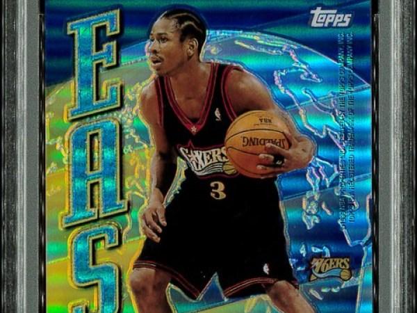 1998-99 Topps - East West - Refractor - #EW9 Allen Iverson