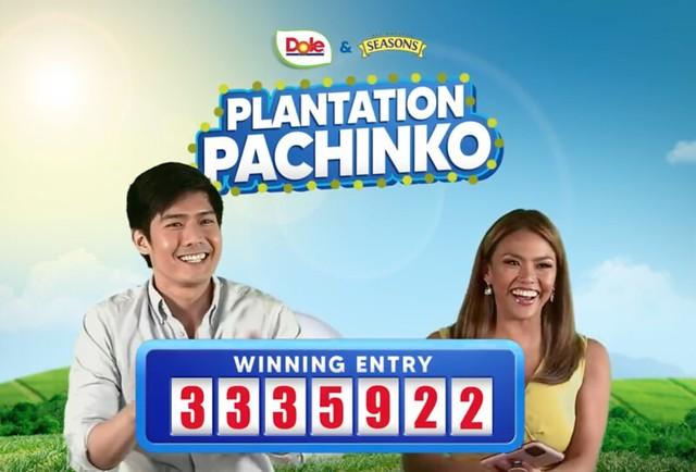 DOLE Philippines Pachinko game