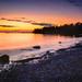 Golden Glow over Lake Michigan