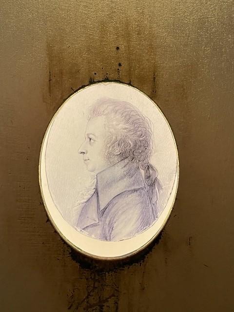 Authentische Abbildung von Mozart