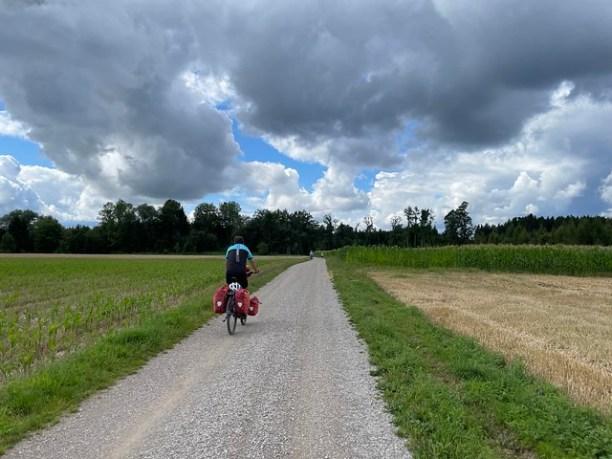 Wolken vor München