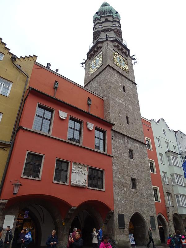antiguo Ayuntamiento y Torre del Reloj Innsbruck Austria