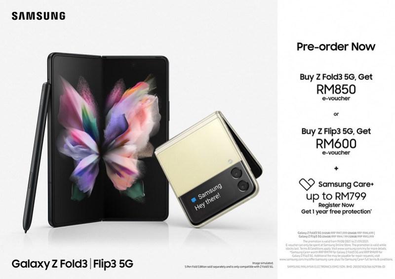 Galaxy ZFold3_Z Flip3_Pre-Order