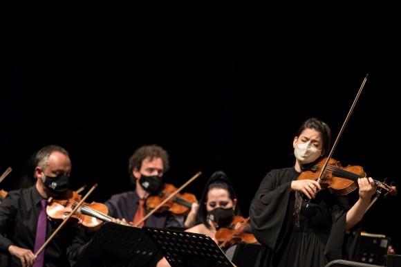 Concerto 4 de Xuño - Auditorio do Concello - MC + IR e OSV430 Fotografía de Eduardo Irago