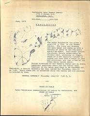 Early Washington Area Women's Center newsletters: 1973