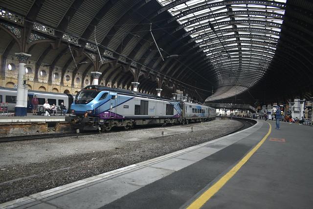 Trans Pennine Express class 68 at York