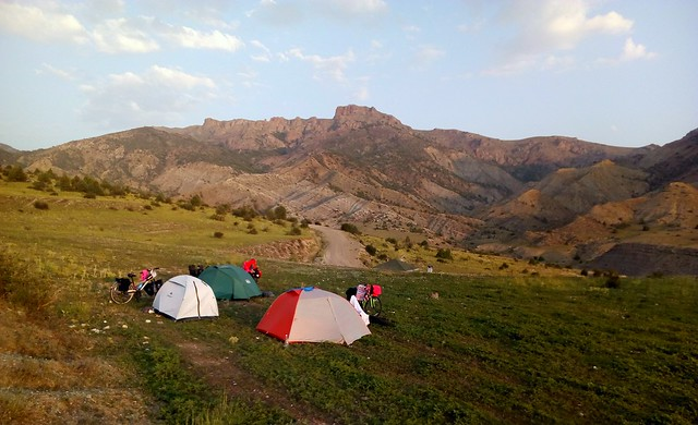We ended up spending two nights at this camp as we spent a full day in Olur fixing Ferda's hydraulic brakes. by bryandkeith on flickr