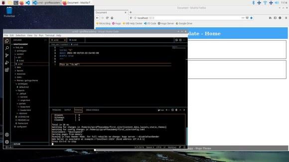 Visual Studio Code on Raspberry Pi OS