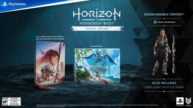 Pre-order Horizon Forbidden West now: Collector's and Digital Deluxe Editions detailed 2