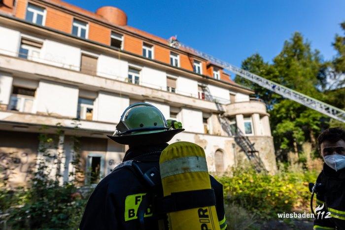 Feuer Villa Goldschmidt