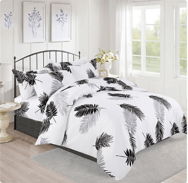 Mini Home Textiles 3 in 1 Double Cotton Bed Sheet Set