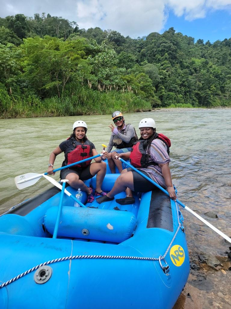 Savegre river white water rafting