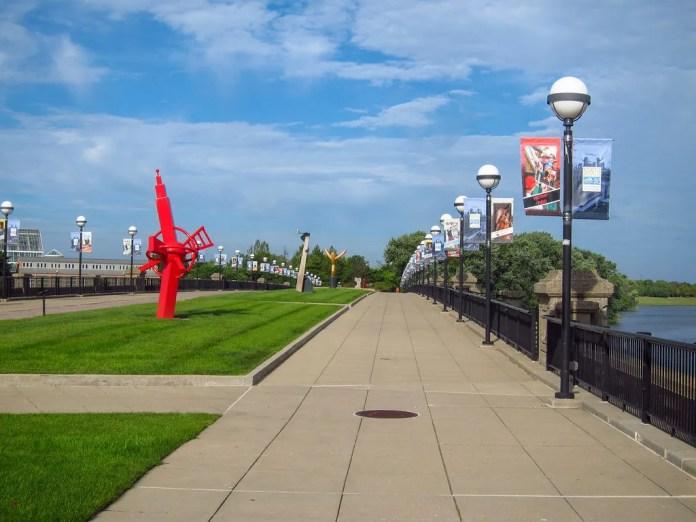 Washington St. Bridge, Indianapolis