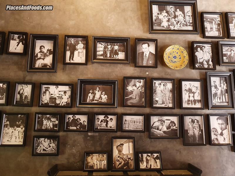 Baan Nakhon Nai Museum king photos