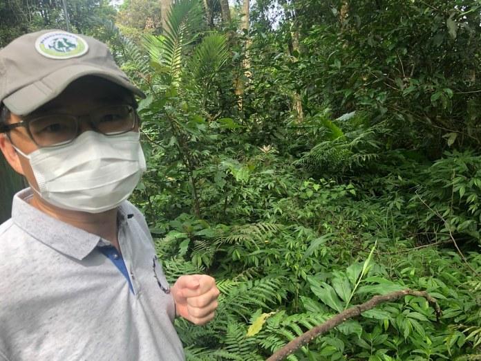 特生中心低海拔試驗站主任陳元龍。廖靜蕙攝。