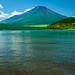 Lake Yamanakako in summer