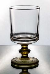 Glass black defined shape